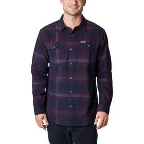 Columbia Flare Gun Corduroy Shirt Heren, red jasper ombre tartan